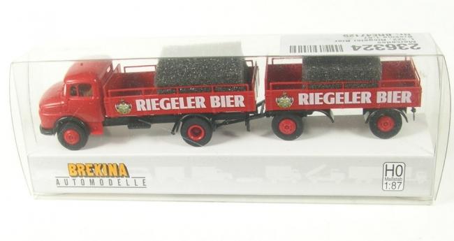 1//87 Brekina Hanomag L 28 Bierpritsche Binding Bier 37137