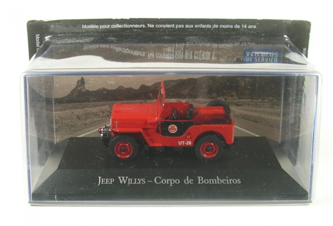 Jeep Willys - Corpo de Bombeiros (Fire Department)