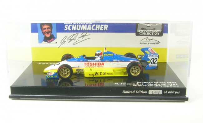 Reynard Spiess 893 No.32 Winner Qualifying Macau GP 1989 (M. Schumacher) 1:43