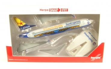 Herpa Wings 1:200 SNAP FIT  Boeing 737-800  Sun Express D-ASXP  611053