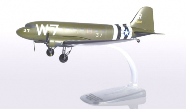 Douglas C-47A Skytrain -U.S. Army Air Forces - 316th Troop Carrier Group, 37th Troop Carrier Squadron - Operation Neptune (D-Day) 75th Anniversary Edition (1:100)