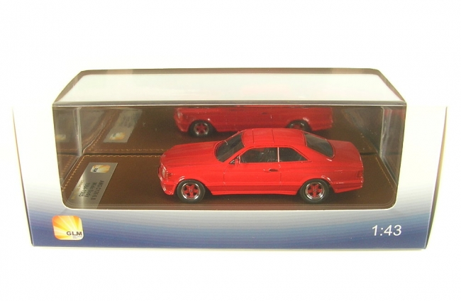 Mercedes-Benz AMG C126 6.0 Wide Body (red) 1984-1985 (1:43)