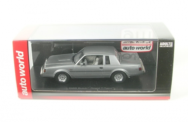 Buick Regal T-Type (silver) 1986
