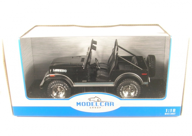 Jeep CJ-7 Laredo (black) 1976