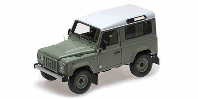 Land Rover Defender 90 Heritage Edition (green/white) 2015