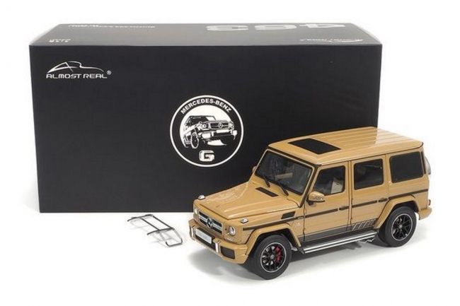 Mercedes-AMG G 63 (W463) - 2015 463 Edition - Desert Sand  1:18 Almost Real