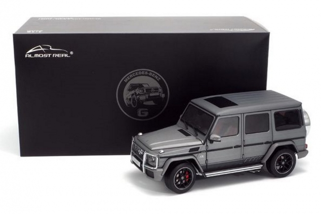 Mercedes-AMG G65 (W463) 2017 (monza grey magno) 1:18 Almost Real