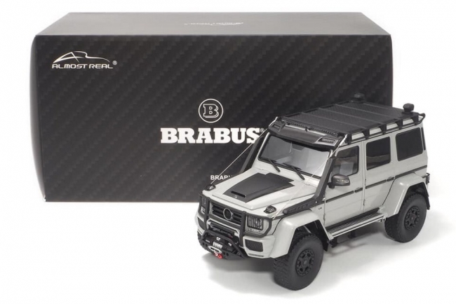 Brabus 550 Adventure Mercedes-Benz G500 4×4² (grey) 1:18 Almost Real