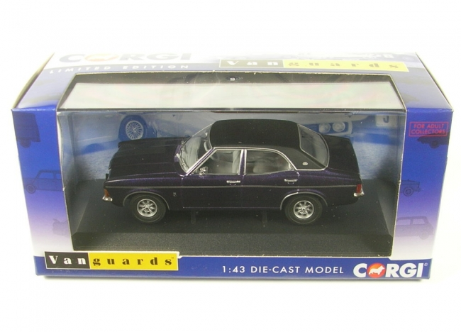 Ford Cortina Mk3 2000E (purple velvet) RHD