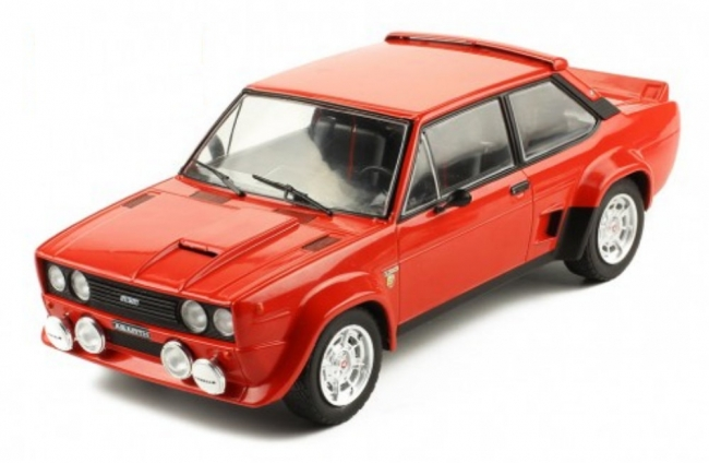 Fiat 131 Abarth (red) 1980