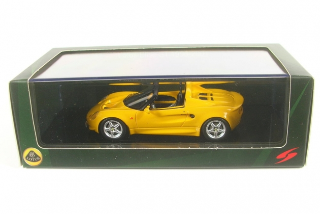 Lotus Elise S1 1996-2001 (yellow) 1:43