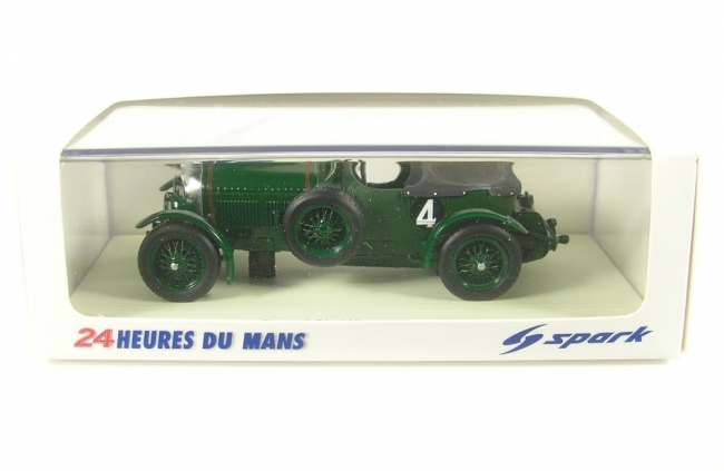 Bentley Speed Six No.4 Winner LeMans 1930 (W. Barnato - G. Kidston) 1:43