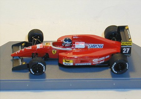 sattler collecting ferrari f92 a jean alesi formel. Black Bedroom Furniture Sets. Home Design Ideas