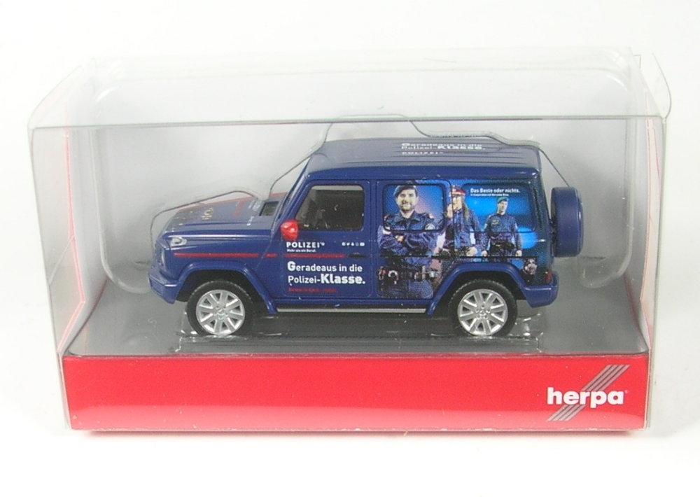 policía Austria 094757 Herpa MB G-clase